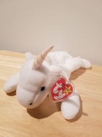 Ty Beanie Baby 4 - Mystic the Unicorn Merrimack