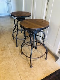 Counter height industrial stools  Alpine, 91901