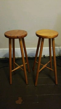 Wood bar stools Toronto, M5V 2A8