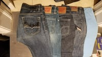 5 pairs of Size 30 jeans