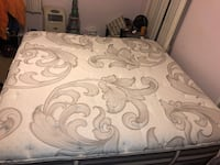 White and gray floral mattress 56 km
