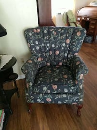 Antique fan back chair