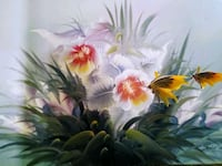 FLORAL BUTTERFLY Painting For SALE  Portland, 97219