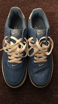 blue and white nike air force 1 New York, 10452