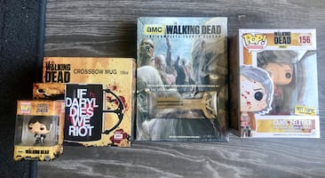 Brand New Walking Dead Collectibles