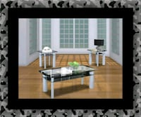 3pc glass coffee table Temple Hills