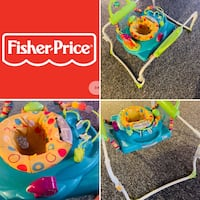 Fisher Price Jumping Walker