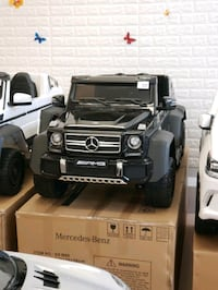 6x6 Heavy duty Mercedes ride on car Vaughan, L4L 8A1