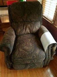 brown and gray floral sofa chair Silver Spring, 20905