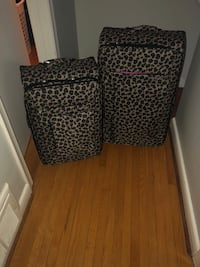 black and white leopard print luggage Toronto, M1C 2K6