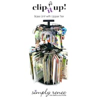Clip it up Organizer Rack Lower & Upper with Clips