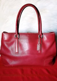 red leather Michael Kors tote bag Tempe, 85282