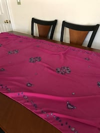 pink and white floral bed sheet Union City, 94587