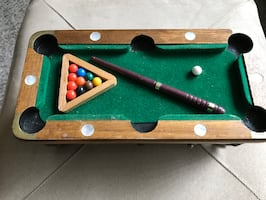 Coaster set (8) Pool table! Really cool piece of art