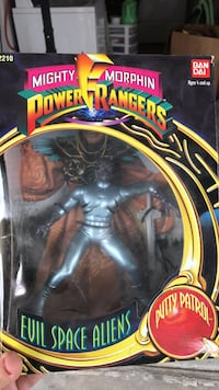 Power rangers evil alien (never opened) Ontario, 91764