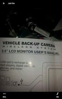 Wireless backup camera ITS BRAND NEW Sarnia, N7S