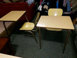 School desk chairs $25 each