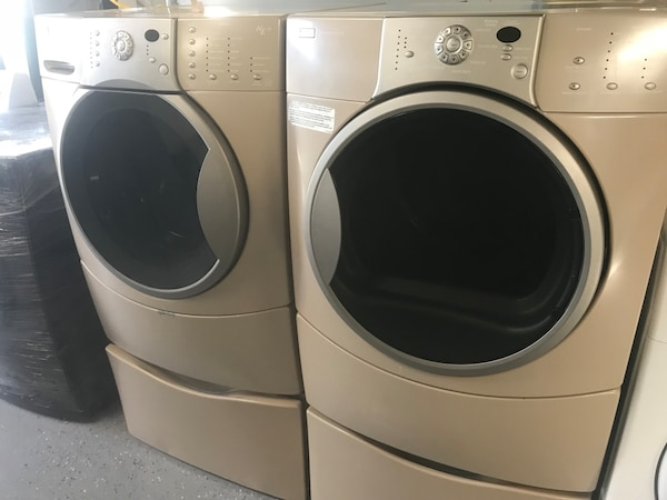 Front Load Clothes Washer And Dryer Set
