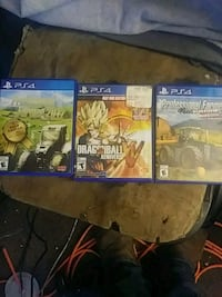 three assorted PS4 game cases Bremen, 46506