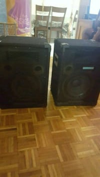 black and gray speaker system Toronto, M9R 3Y8