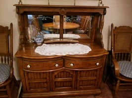 Curio cabinet and China cabinet