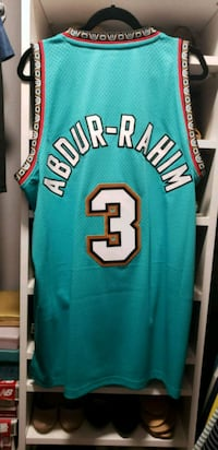 Vancouver Grizzlies Shareef Abdur-Rahim Jersey Langley, V1M 3X4