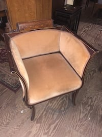 French style inlaid parlor chair Reddick, 32686
