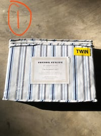 Twin size bed sheet sets