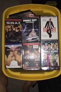 200 DVD Movies - Action Adventure & comedy - willing to trade for RCs