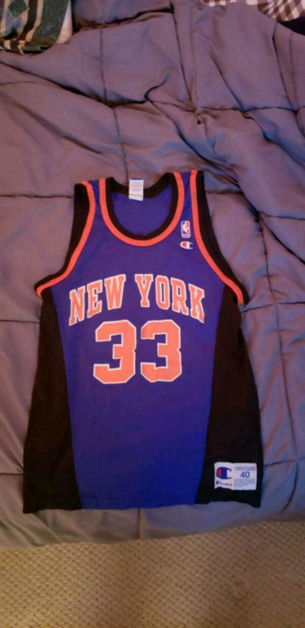 cheap for discount b1b5b 035fb Patrick Ewing / NY Knicks jersey (away)