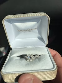 Size 8 Leo Diamond ring bought six months ago . I have all the bar code info with it !!  Lake Charles, 70605