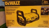 DeWalt power station and battery charger brand new Vancouver, V5L 1X3