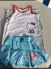 Hello kitty girls outfit. Size L.  Tampa, 33611
