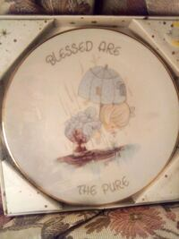 Precious Moments Collectable Plate!