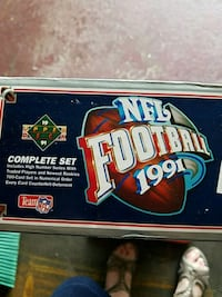 Football cards 1991 brand new