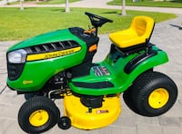 John Deere D110 with Trailer Cape Coral, 33991
