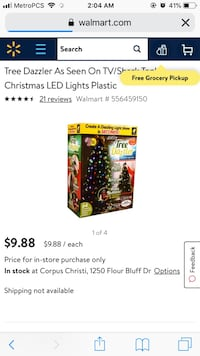 Tree lights 10 for both boxes  [PHONE NUMBER HIDDEN]  Corpus Christi, 78407