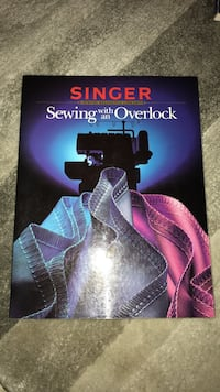 SInger sewing with an overlock guide book