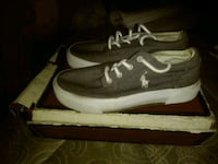 Kids gray polos size 13c Indianapolis, 46225