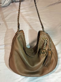 brown leather 2-way handbag Miami Gardens, 33055