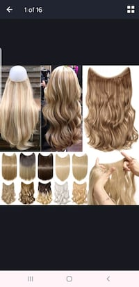 24 inch synthetic hair extensions  Albuquerque, 87105