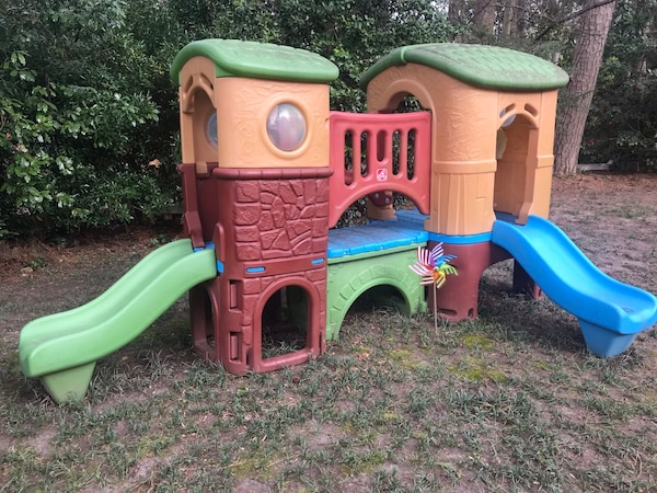 Jungle Gym For Sale >> Used Step 2 Jungle Gym Playhouse For Sale In Decatur Letgo