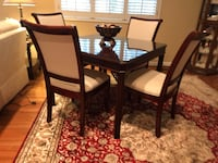 Brown wooden dining table set Elgin, 29045