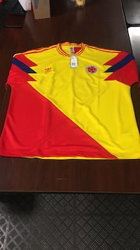 Yellow and red adidas jersey shirt New York, 11371