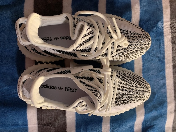 c85a37c74 Used White-and-black adidas yeezy boost 350 for sale in San Jose - letgo