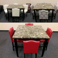 New 5pc Pub Table Dining Sets  Fairfield, 94533