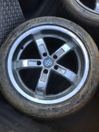 NEW PRICE Rims and tires  550.00 obo Ragley, 70657