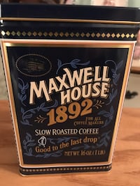 Maxwell House Collectible Coffee Tin Gainesville, 20155