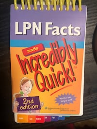LPN facts book Edmonton, T5X 5M6
