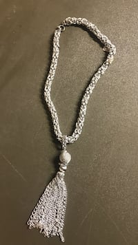 Silver necklace Flat Rock, 48134